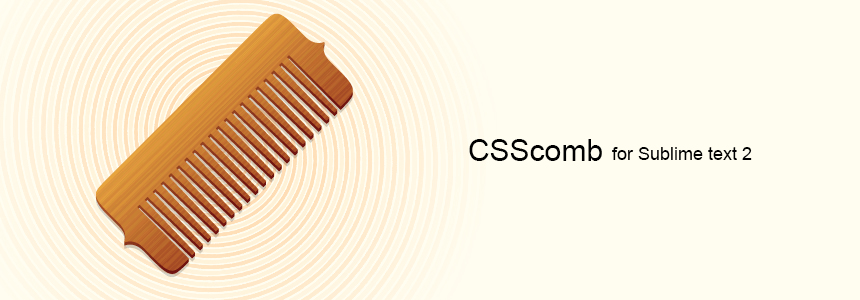 CSScomb for Sublime Text 2