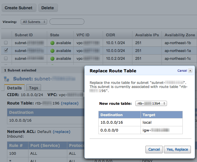setup-public-subnet-for-route-table