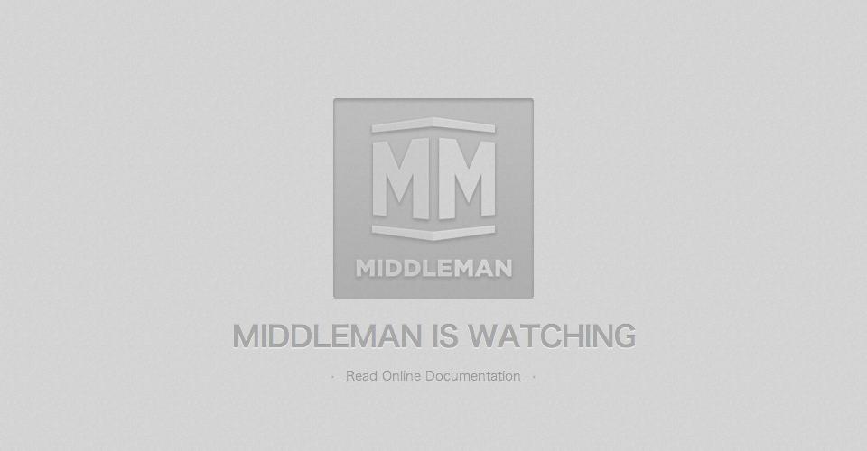 middlema開発サーバーの起動