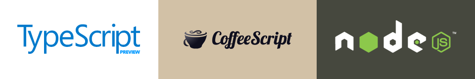 TypeScript CoffeeScript node.js