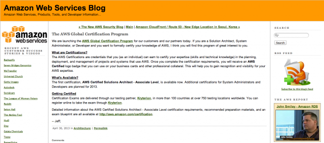 aws-certification-exam-announce