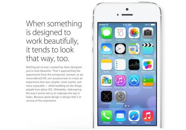 (画像引用元:Apple.com http://www.apple.com/ios/ios7/design/)