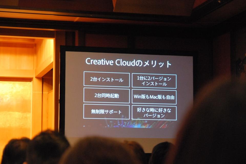 Creative Cloudのメリット
