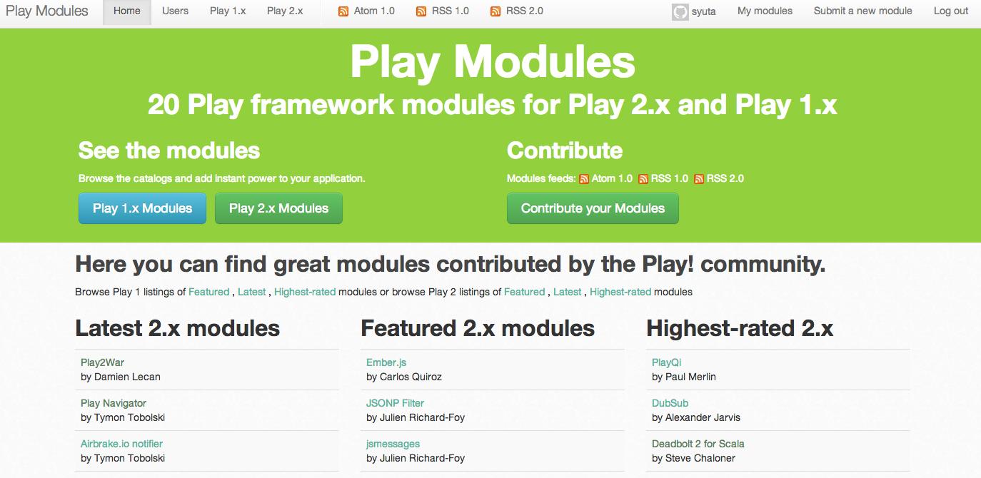 playmodules
