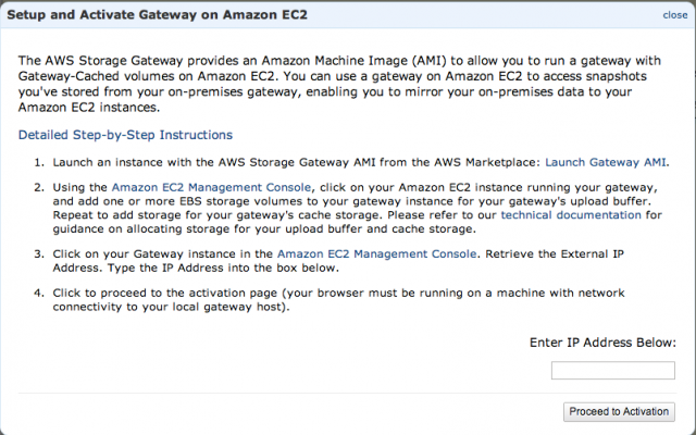 storage gateway introduction
