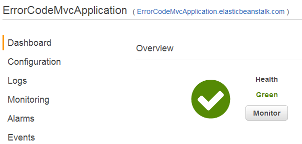 Error Code Mvc Application 17