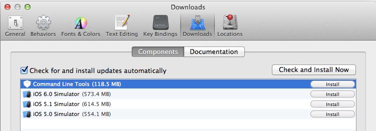 xcode-cli-install