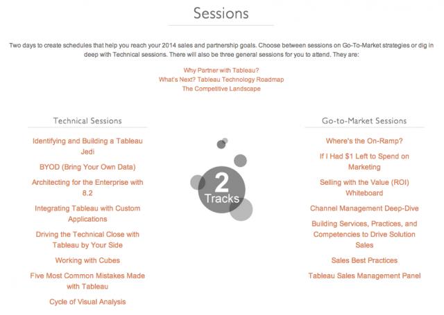 tablaeu-partner-summit-sessions