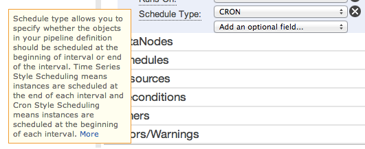 aws-datapipeline-optional-field-14-schedule-type