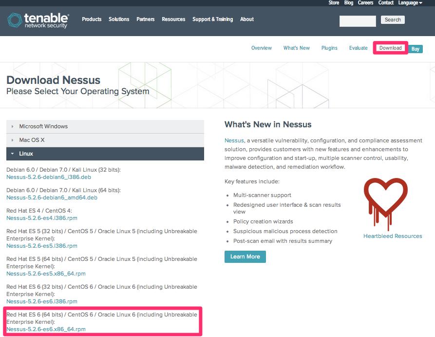 Nessus on EC2でシステムの脆弱性を検査する   DevelopersIO