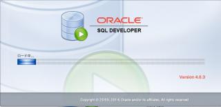 Oracle SQL Developer起動画面