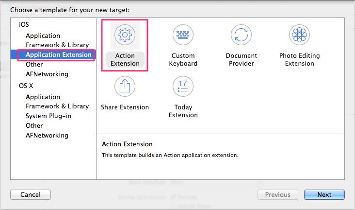 iOS 8] App Extension #4 – Action Extension   DevelopersIO