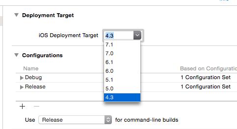 xcode6-deployment-target