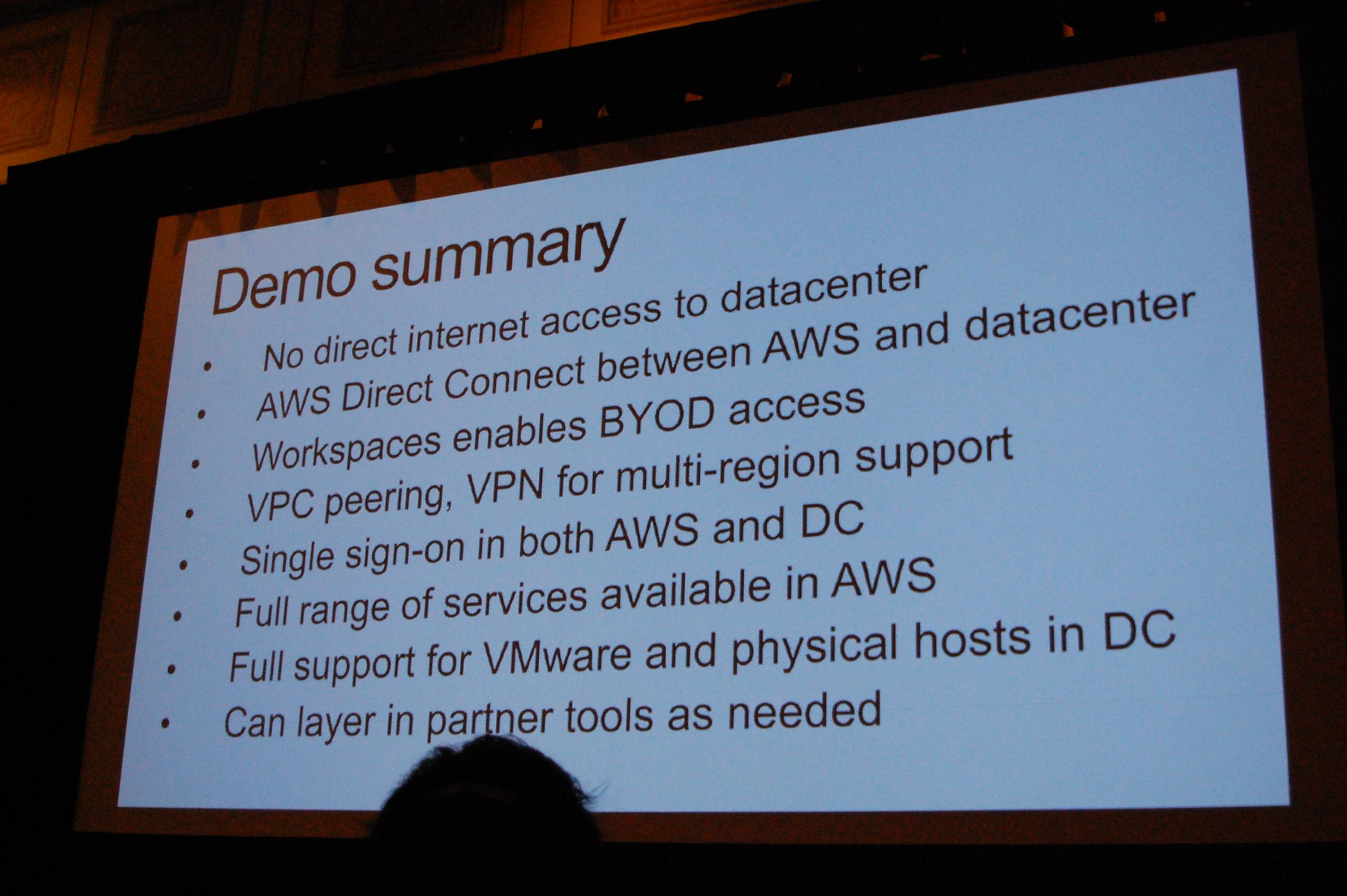 セッションレポート]VMwareプロフェッショナルのためのAWS入門