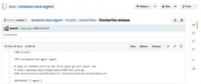 amazon-ecs-agent_Dockerfile_release_at_master_·_aws_amazon-ecs-agent