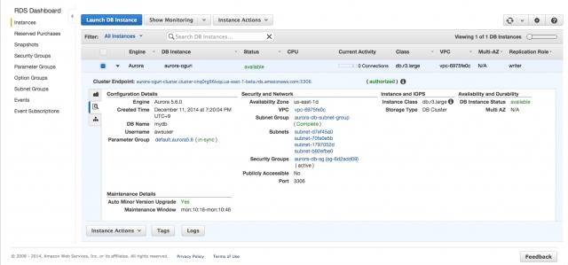 RDS_·_AWS_Console_と__1_KDDI_ChatWork_-_AWSチーム
