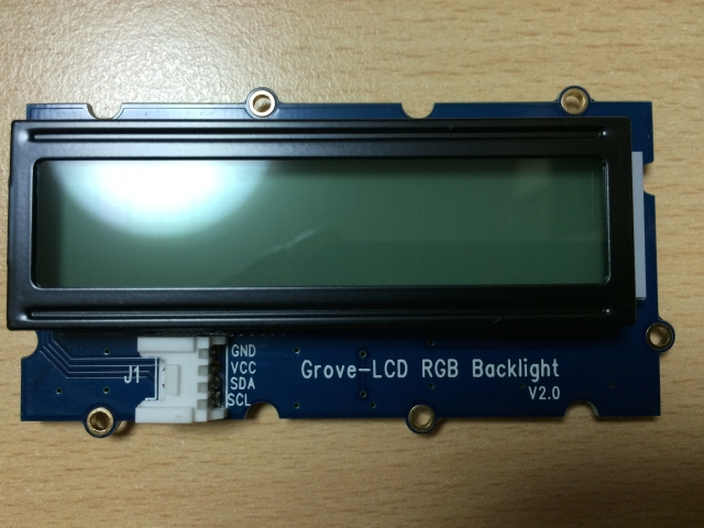 Grove - RGB Backlight LCD