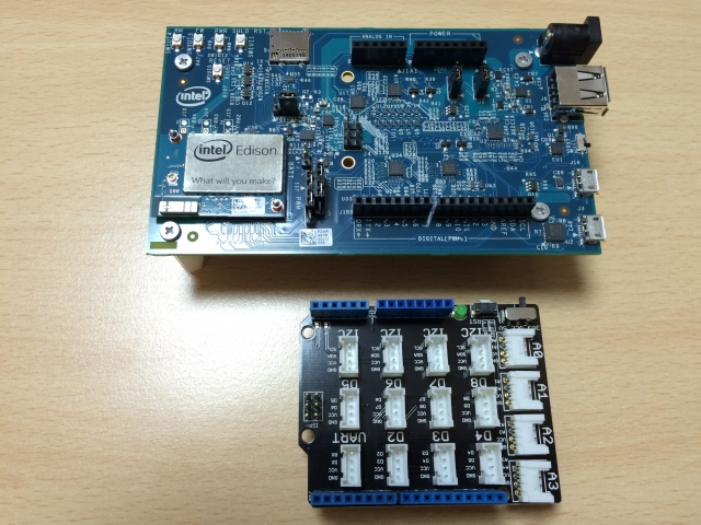 Intel Edison Kit for Arduino and Grove Starter Kit for Arduino