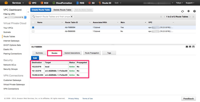 AWS】統合脅威管理「Sophos UTM」を使ってVPC間をIP-VPN接続する