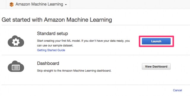Amazon_Machine_Learning_Management_Console 2