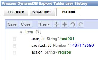 dynamodb_test