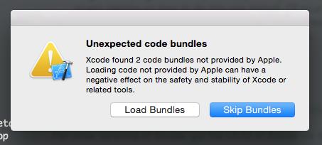 xcode-load-bundle