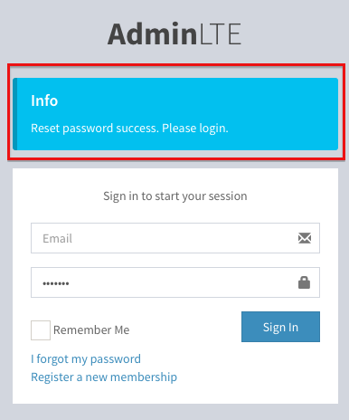 AdminLTE_LoginTemplate_PasswordResetSuccess