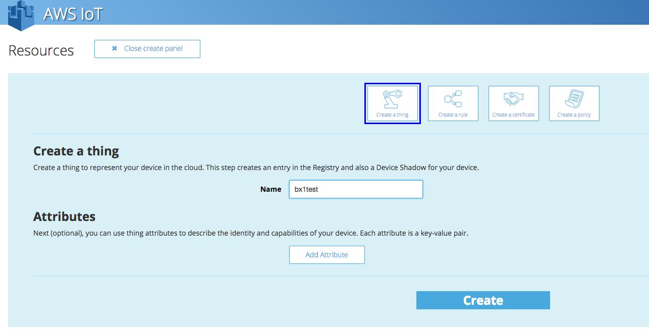 OpenBlocks BX1とAWS IoTをつなげてAmazon S3にメッセージをなげてみる