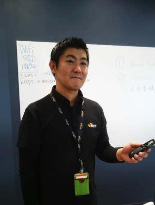 トレーニング講師の松本さん