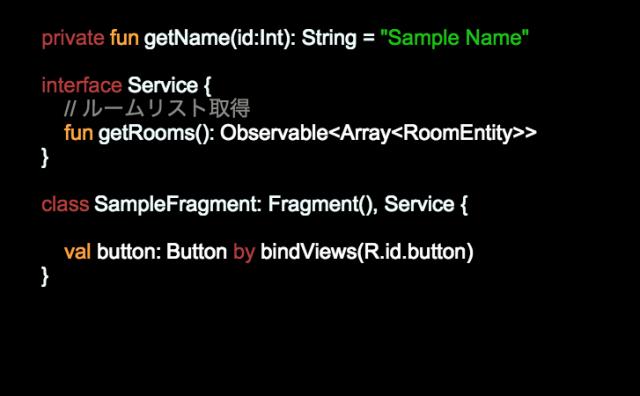Kotlin Syntax Highlight Color