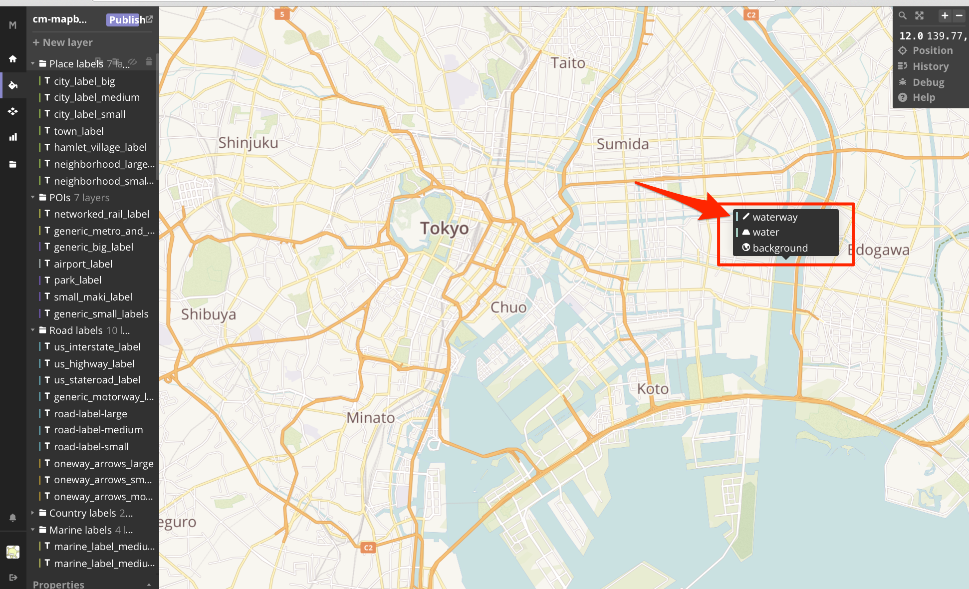 how to add style to mapbox map