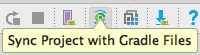 Sync Project with Gradle Files