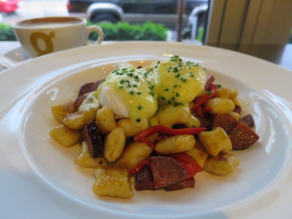 potato gnocchi hash