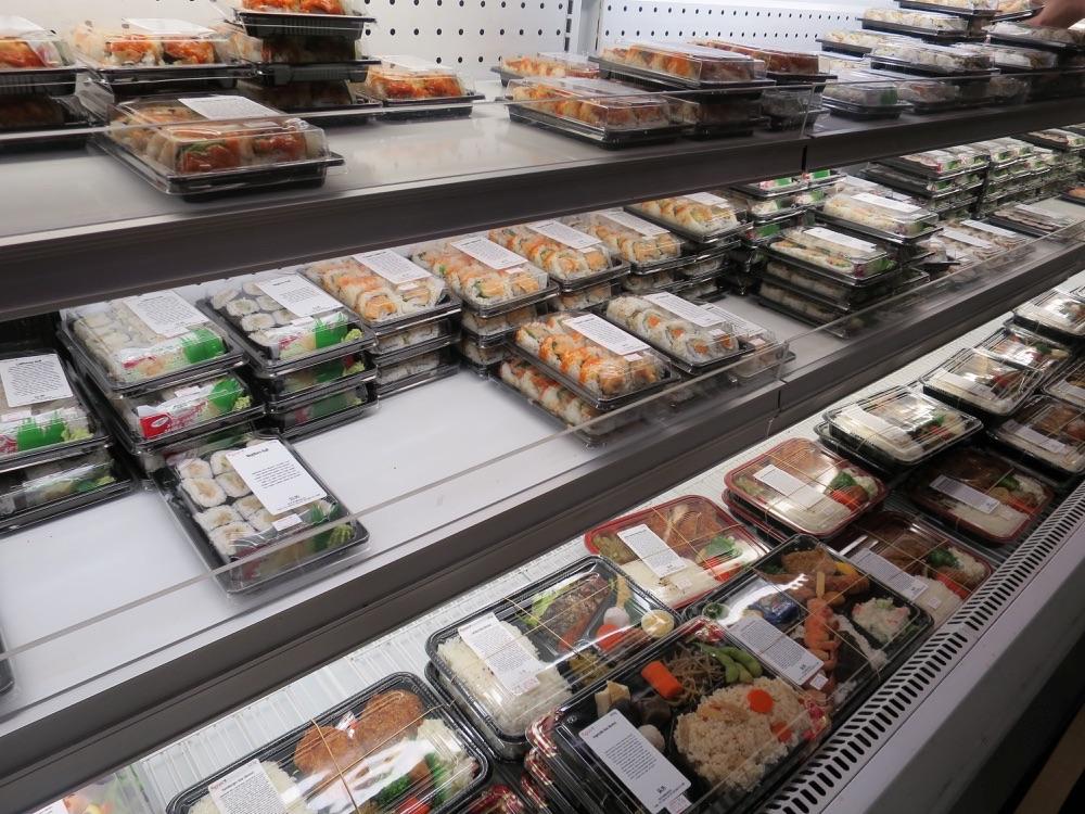Fujiyaのお弁当売り場