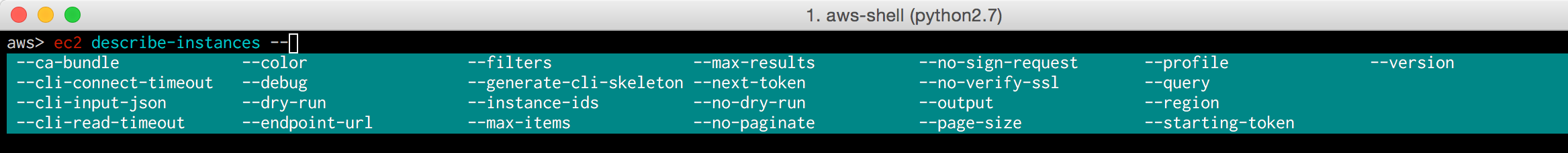 1__aws-shell__python2_7_ 4