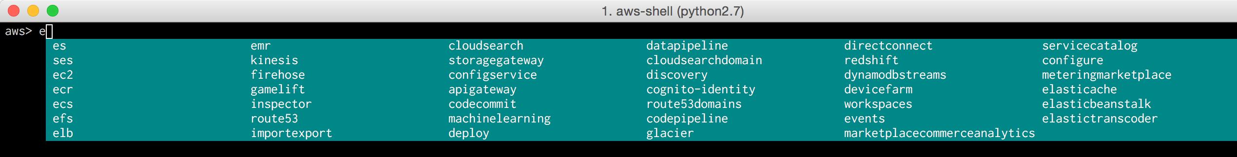 1__aws-shell__python2_7_ 8