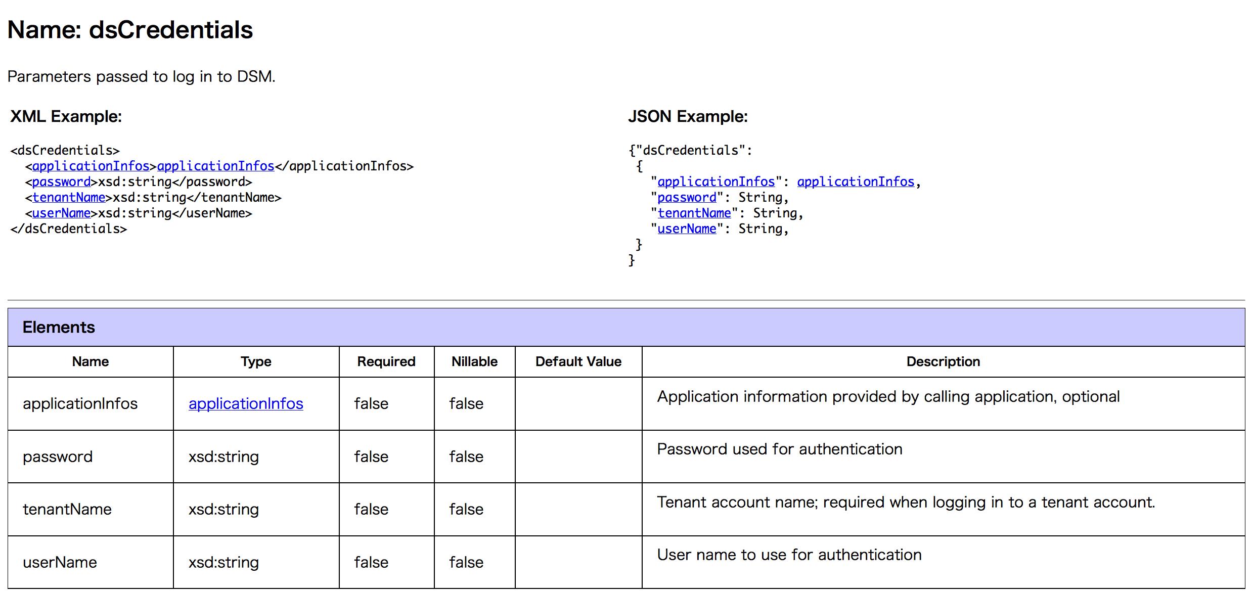 XML_element_dsCredentials
