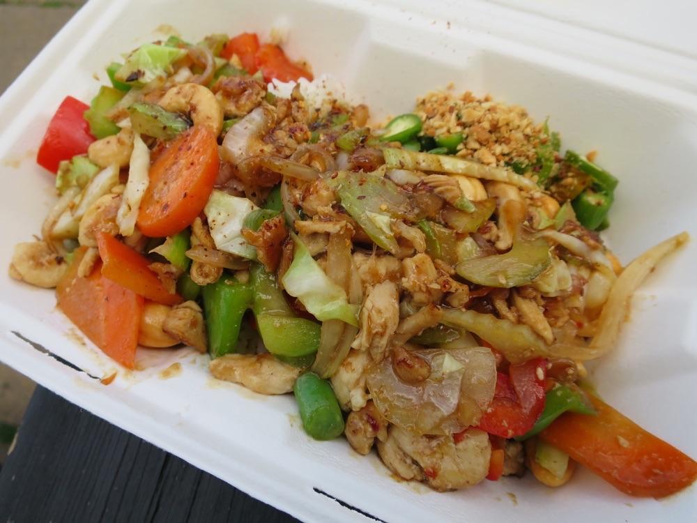 Super Thai Foodのチキンカシューナッツ
