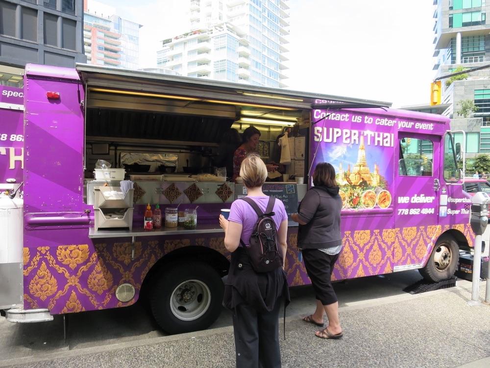 Super Thai Foodのトラック