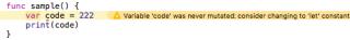 swift error sample