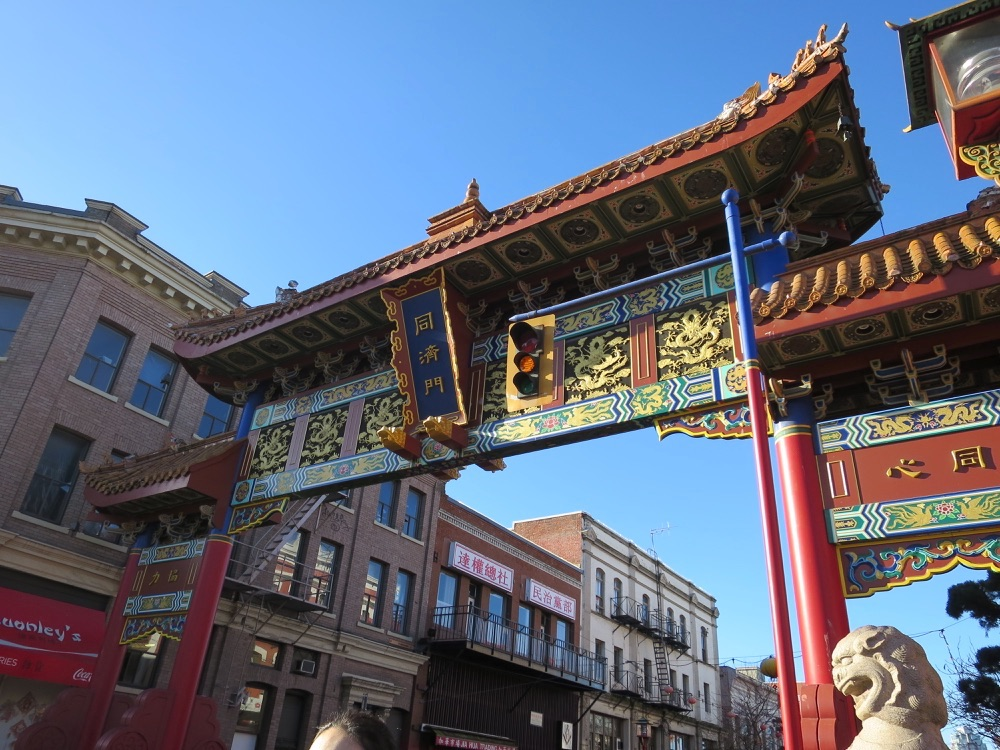 Victoriaの中華街