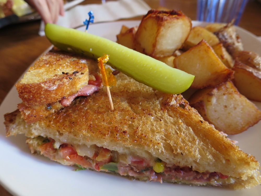 The Blue Fox CafeのSouthpaw Grilled Ham & Cheese