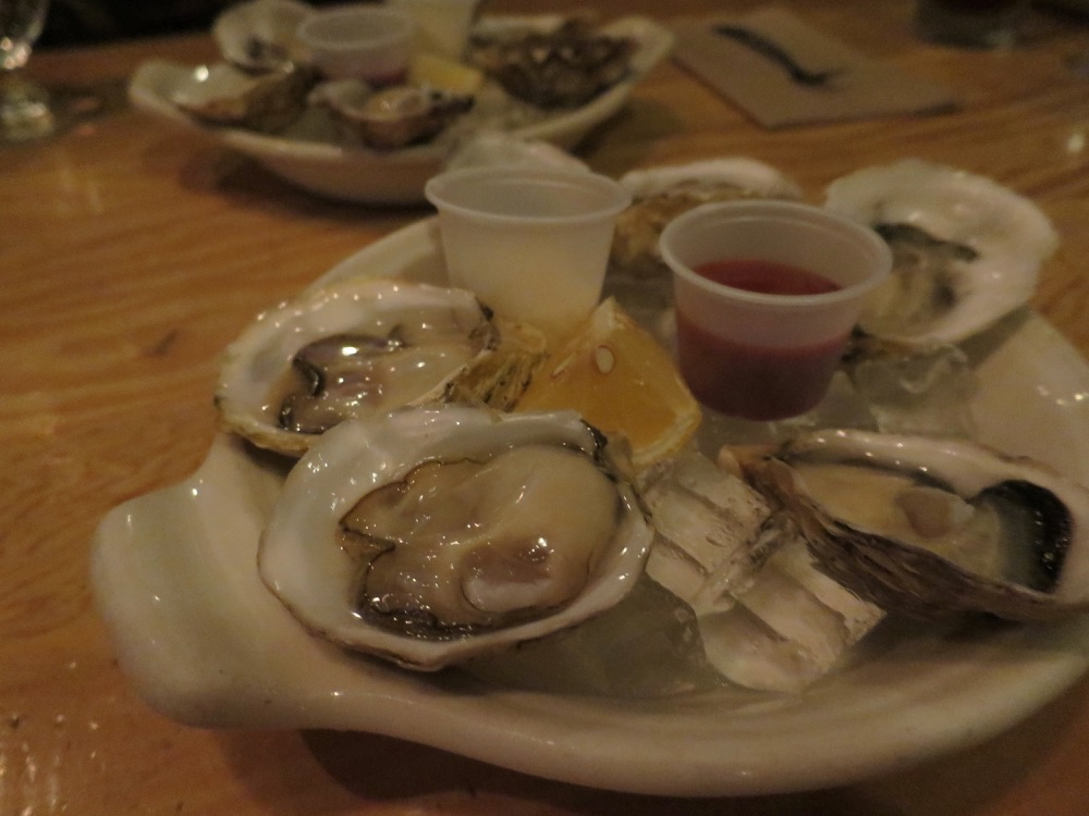 The Docksの牡蠣