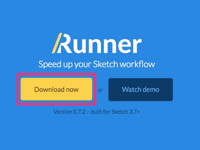 Sketch Runner Plugin