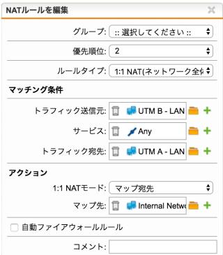 UTMA-DNAT