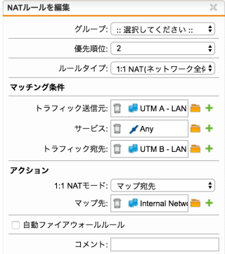 UTMB-DNAT