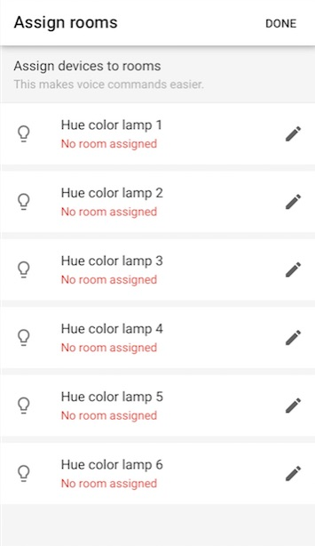 how to connect hue with google hoem