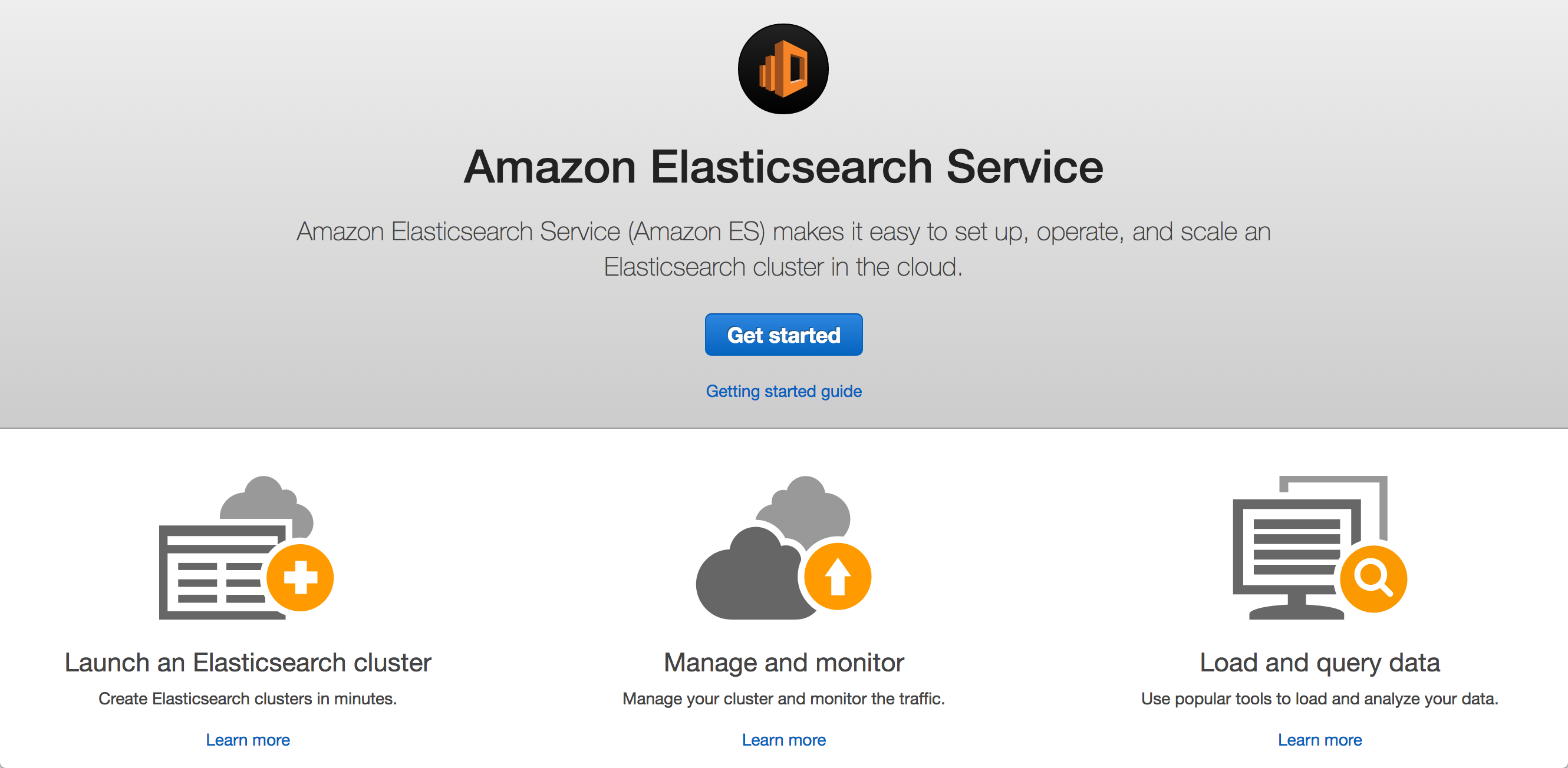 Amazon_Elasticsearch_Service_Management_Console