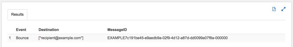 Amazon Athena Nested-JSONのSESログファイルを検索する