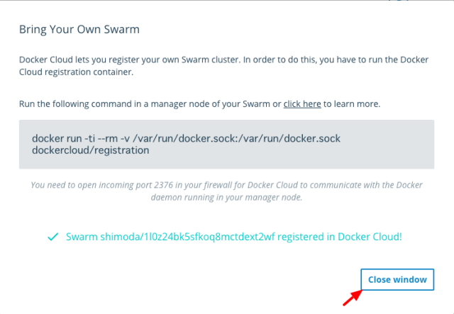 Docker Cloud5